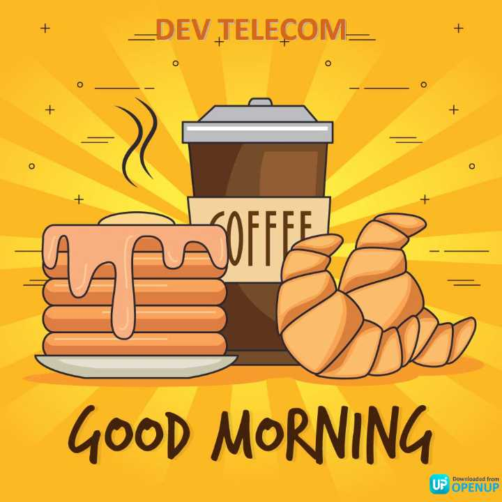 🤣होली जोक्स - + _ DEV TELECOM = ох GOOD MORNING Downloaded from UP OPENUP - ShareChat