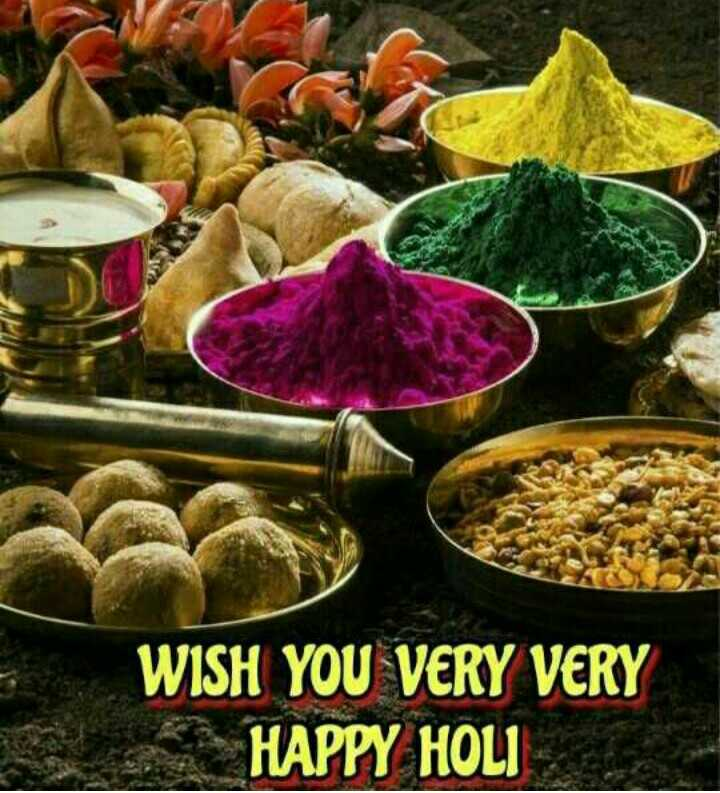 🕺 होली है - WISH YOU VERY VERY HAPPY HOLI - ShareChat