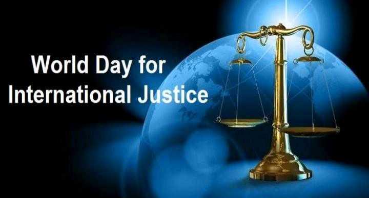 আন্তর্জাতিক ন্যায় বিচার দিবস - World Day for International Justice - ShareChat