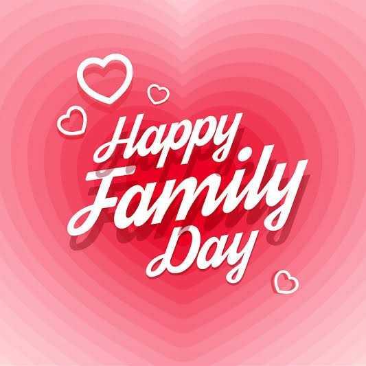 আন্তর্জাতিক পরিবার দিবস - Happ . , Family Day o - ShareChat