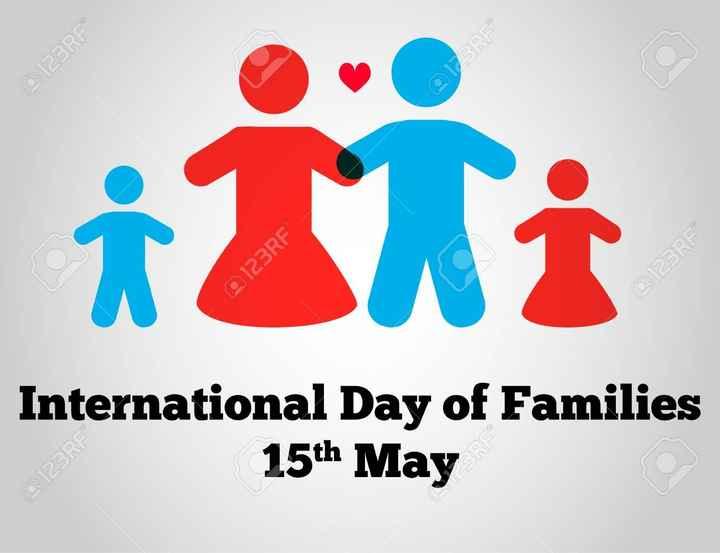 আন্তর্জাতিক পরিবার দিবস - 0123RF SPE 0123RE @ 123RF International Day of Families 15th May 0123RF - ShareChat