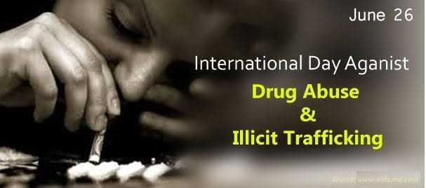 আন্তর্জাতিক মাদক বিরোধী দিবস 🤘🏽 - June 26 International Day Aganist Drug Abuse & Illicit Trafficking Source www . aidsmil . com - ShareChat