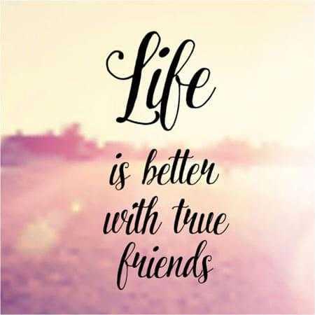 🤔আমার চিন্তা ভাবনা - is better with true friends - ShareChat