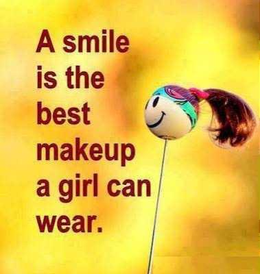 আমার চিন্তাভাবনা - A smile is the best makeup a girl can wear . - ShareChat