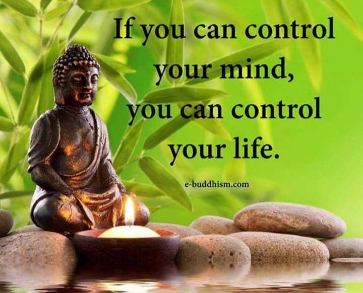 🤔আমার চিন্তা ভাবনা - If you can control your mind , you can control your life . e - buddhism . com - ShareChat