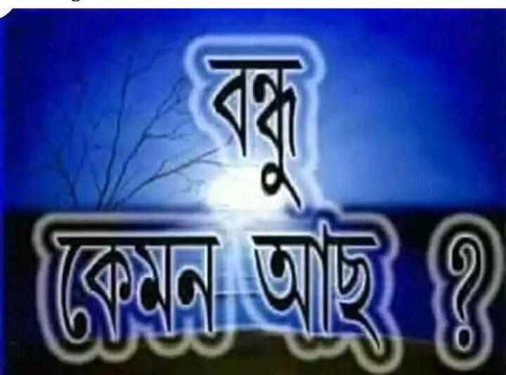 আমার প্রিয় বন্ধু - কেমন আছ ৪ - ShareChat