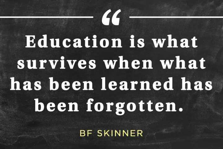📚উপদেশ - - CG Education is what survives when what has been learned has been forgotten . BF SKINNER - ShareChat