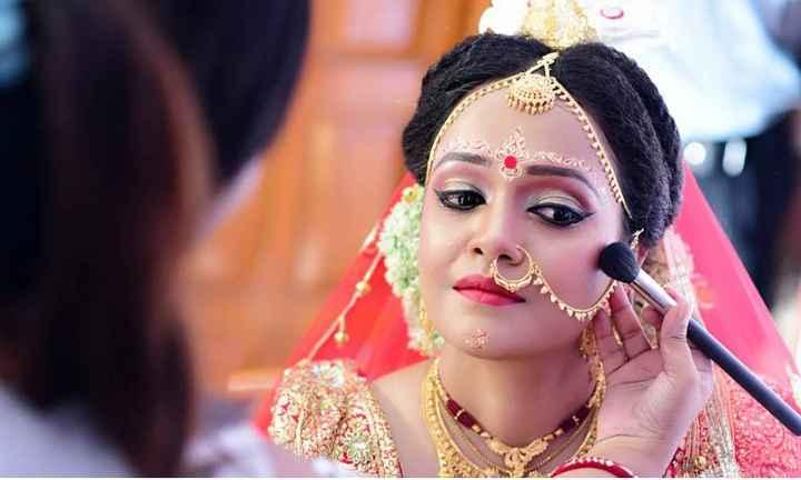 কইনাৰ মেকআপ আৰু সা-সজ্জা - ShareChat