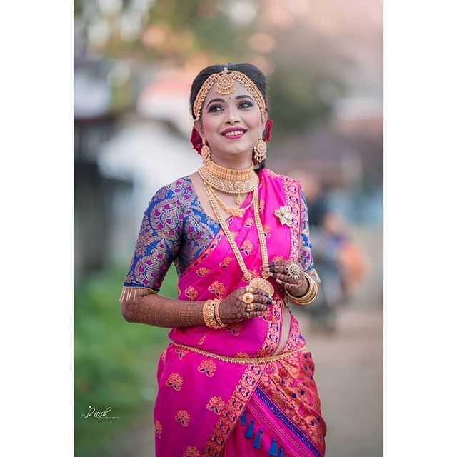 কইনাৰ মেকআপ আৰু সা-সজ্জা - Ritish - ShareChat
