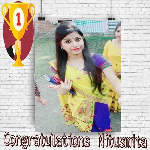 খাঁঁটি বৰপেটিয়া - Congratulations Nitusmita - ShareChat