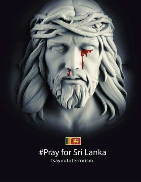 গুড ফ্রাইডে - # Pray for Sri Lanka # saynototerrorism - ShareChat