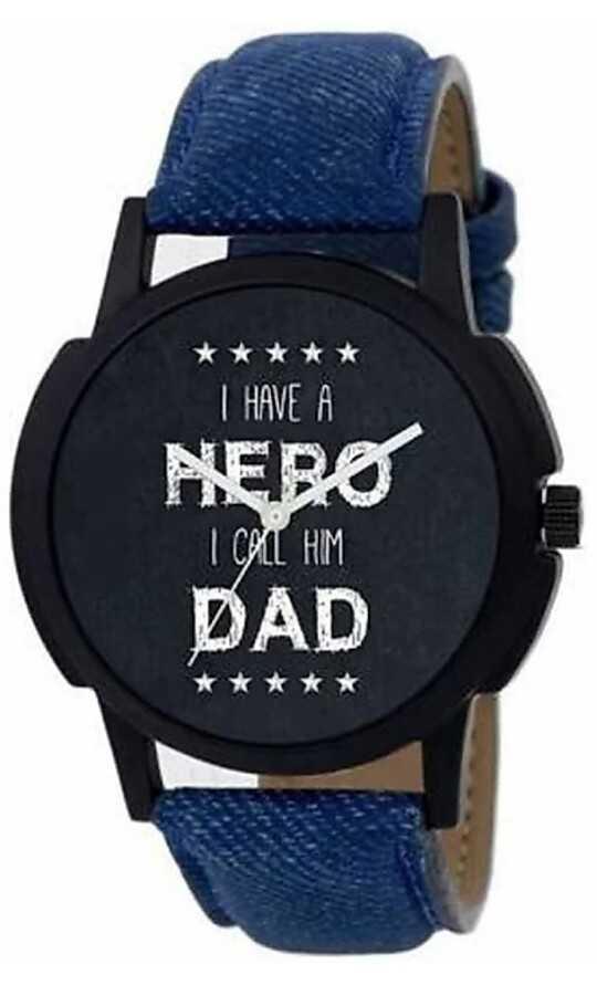 ⌚ঘড়ি ডিজাইন - * * * * * I HAVE A NERO I CALL HIM DAD * * * * * - ShareChat