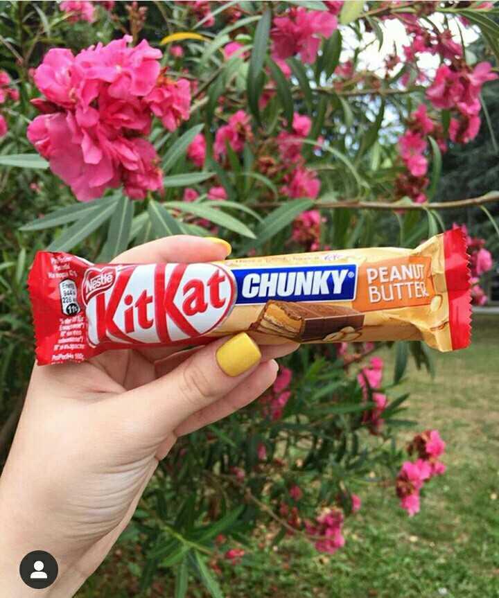চকলেট  🍫 - PEANUT Nestle CHUNKT BUTTER WitKat CHUNKY - ShareChat