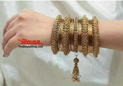 চুড়ির সাজ - WE123 4182 123 The Blouse TheBlouseShop . com - ShareChat