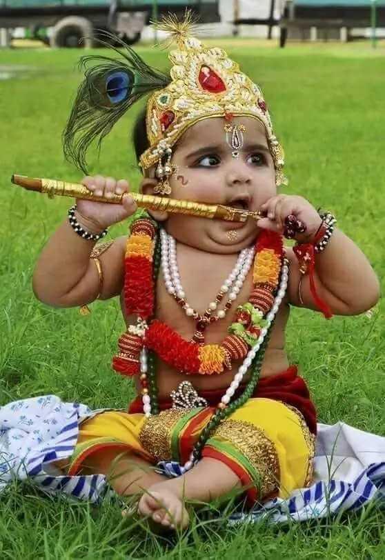 জন্মাষ্টমীর  শুভেচ্ছা 🙏 - ShareChat
