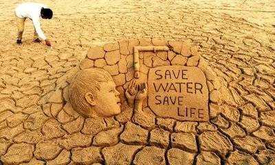 জলের সঙ্কটে চেন্নাই 💧 - SY SAVE WATER SAVE LIFE PA - ShareChat
