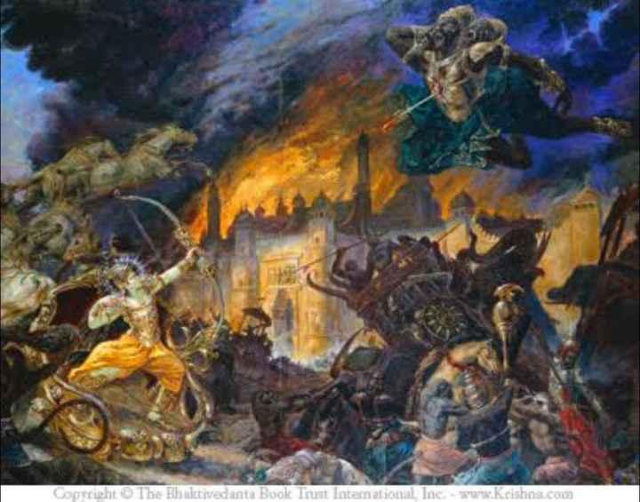 জয় হনুমান - Copyright © The Bhaktivedanta Book Trust Intemational Inc . - www . Krishna . com - ShareChat