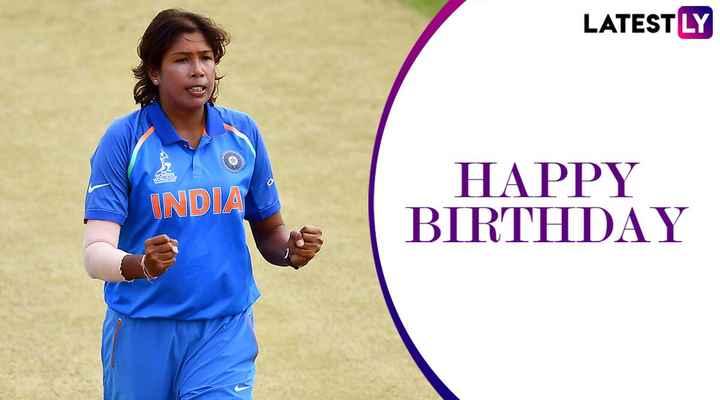 ঝুলন গোস্বামী জন্মদিন 🏀 - LATESTLY WS INDIA HAPPY BIRTHDAY - ShareChat