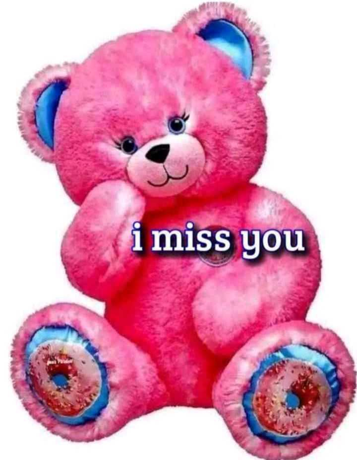 🐶 টেডি বিয়ার - i miss you - ShareChat