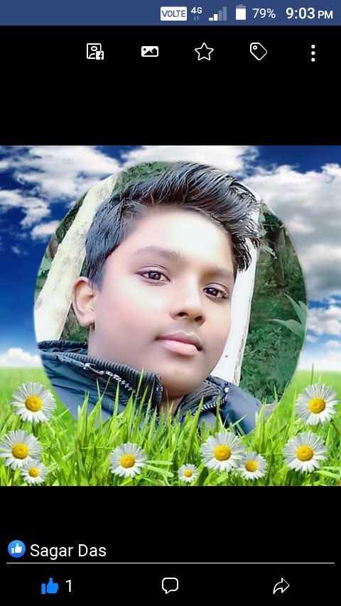 দিদি কে বলো ওয়েবসাইট  🗣 - VOLTE 46 . . 79 % 9 : 03 PM 1 . Sagar Das id 1 - ShareChat