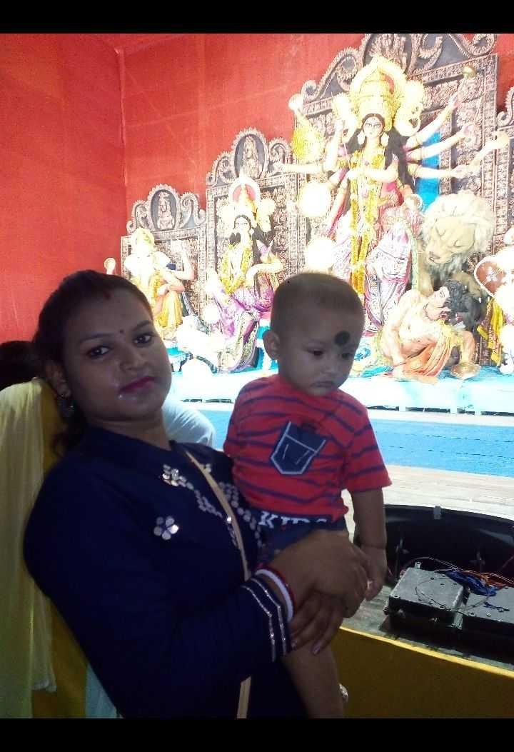 দূর্গাপুজো মুহূর্ত 💃🏼 - ShareChat