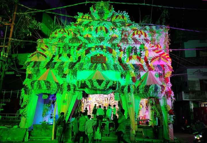 দূর্গা পূজা Countdown 🕑 - P शामिल टगाआश्रम शेखपाल , पारन patली सियार KAREENADA Namokaar SHAYAT - ShareChat