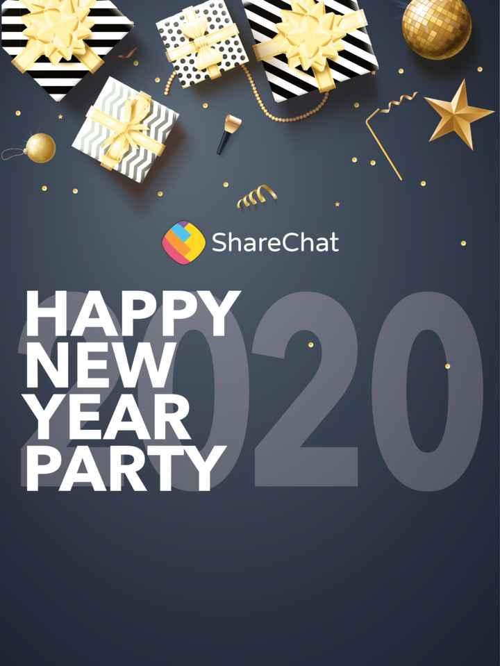 🥳  নৱবৰ্ষক আদৰাৰ প্ৰস্তুতি - ShareChat HAPPY NEW YEAR PARTY - ShareChat