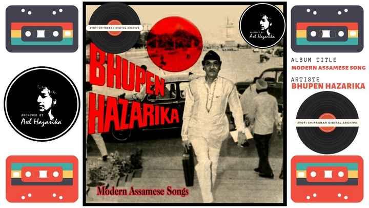 পুৰণি অসমীয়া গীত - JYOTI CHITRABAN DIGITAL ARCHIVE ARCHIVED BY Axl Hazarika ALBUM TITLE MODERN ASSAMESE SONG ARTISTE BHUPEN HAZARIKA ARCHIVED BY HAZARIKA 10 0 Axl Hazarika JYOTI CHITRABAN DIGITAL ARCHIVE Modern Assamese Songs - ShareChat