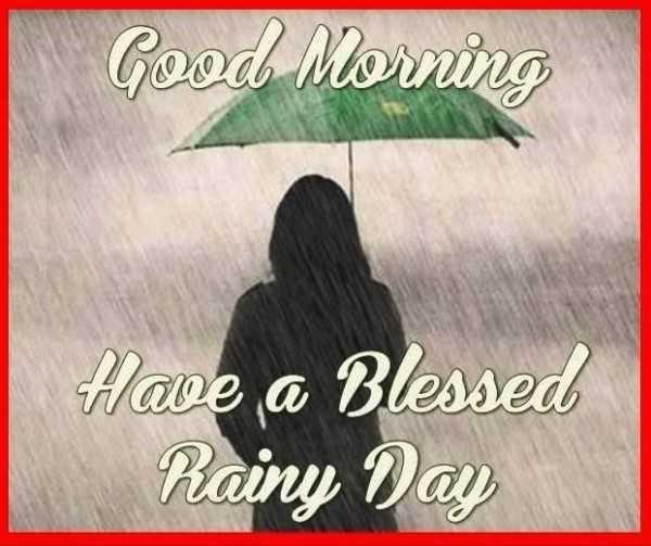 বর্ষাকাল ⛈ - Good Morning Have a Blessed Rainy Day - ShareChat
