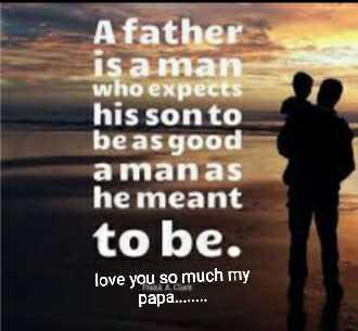 বাবার সাথে স্মৃতি  👪 - A father is a man who expects his son to be as good a manas he meant to be . love you so much my papa . . . . . . - ShareChat