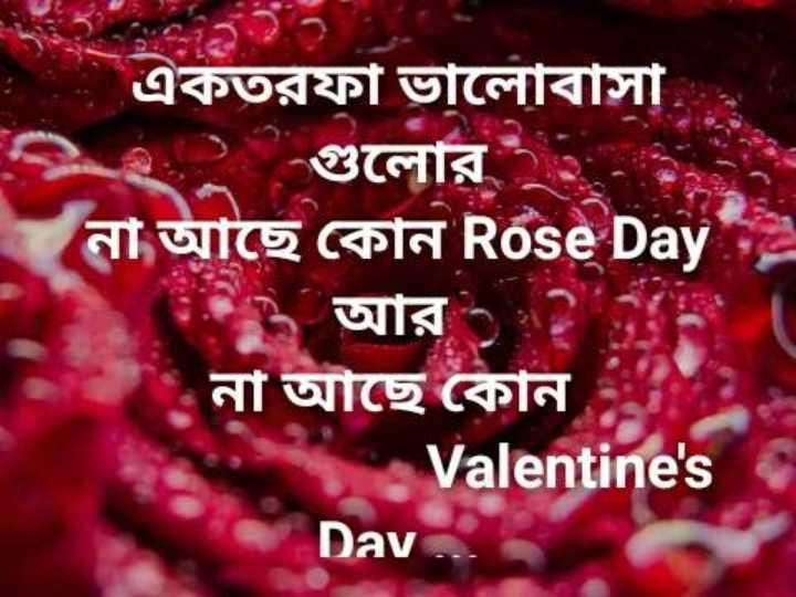বাবা লোকনাথ  🙏 - একতরফা ভালােবাসা , 2 গুলাের আছে কোন Rose Days ১ আর না আছে কোন Valentine ' s Dav - ShareChat