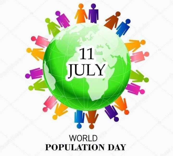 বিশ্ব জনসংখ্যা দিবস  👨👩👧👦 - 11 JULY WORLD POPULATION DAY - ShareChat