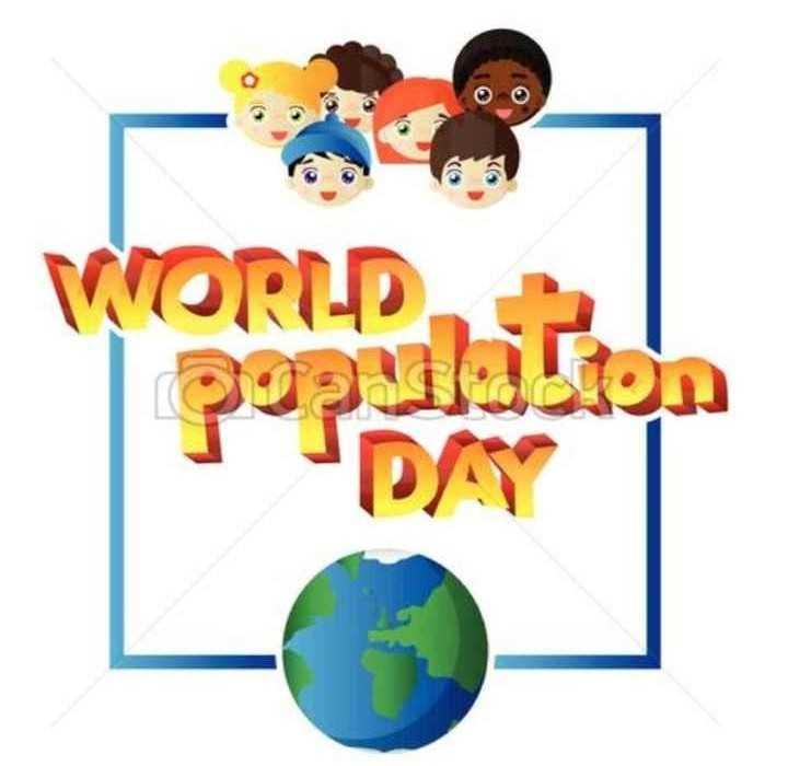 বিশ্ব জনসংখ্যা দিবস  👨👩👧👦 - WORLD population - ShareChat