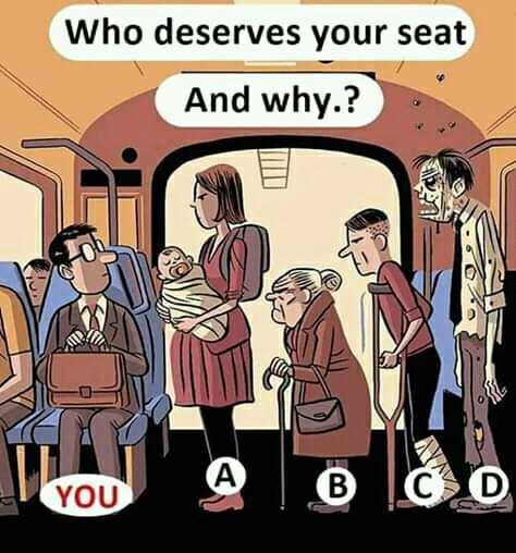 বুদ্ধিযুদ্ধ - Who deserves your seat And why . ? - ShareChat