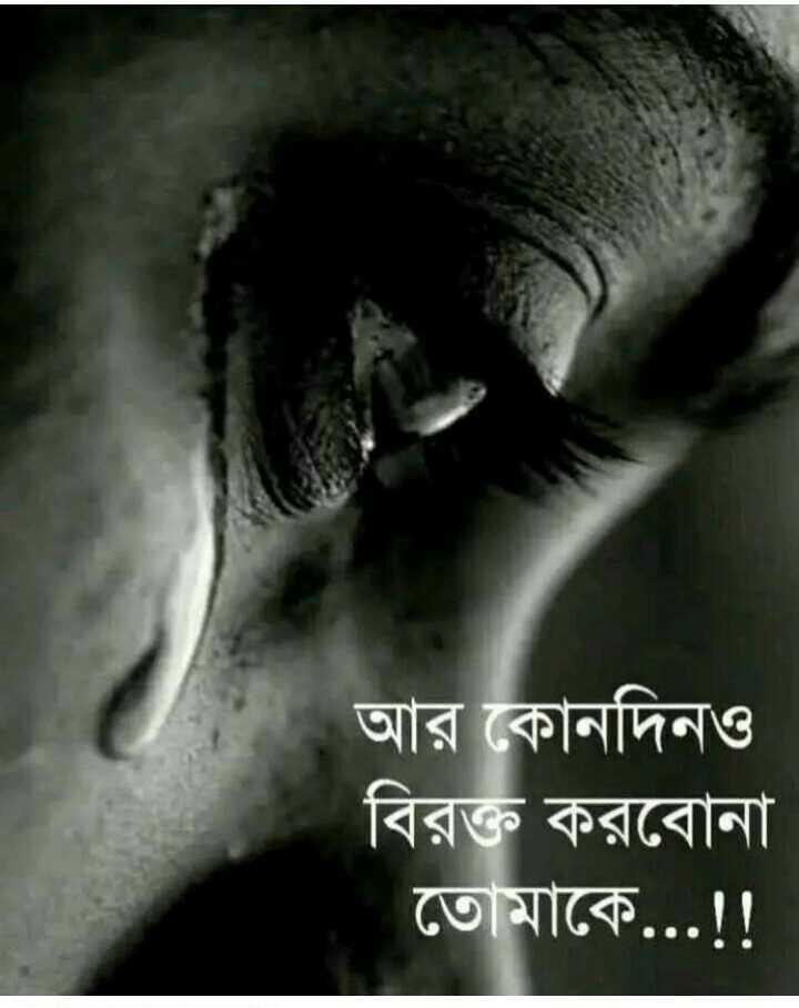 💔ভগ্নহৃদয় শায়েরি - আর কোনদিনও বিরক্ত করবােনা তােমাকে . . . ! ! - ShareChat