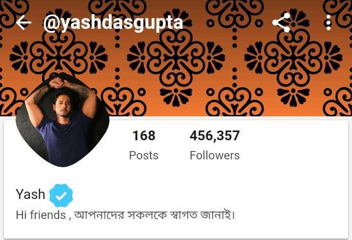 😝মজাদার স্ট্যাটাস - Sc @ yashdasgupta so s 168 Posts 456 , 357 Followers Yash Hi friends , tratting y cpotto GTI - ShareChat