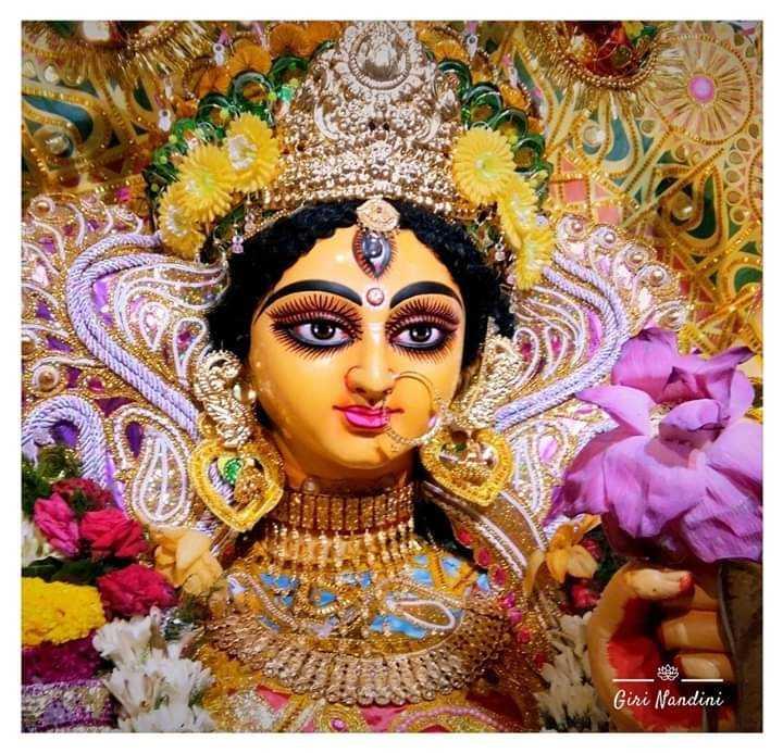 মা দুর্গা - Giri Nandini - ShareChat