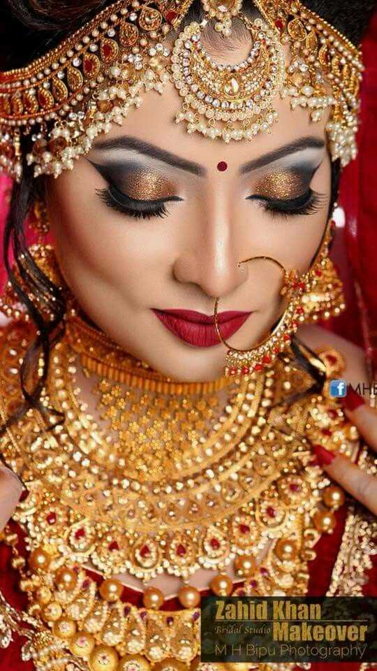 💄মেকআপ - fMHE Zahid Khan Bridal Stied to Makeover MH Bipu Photography , TO - ShareChat