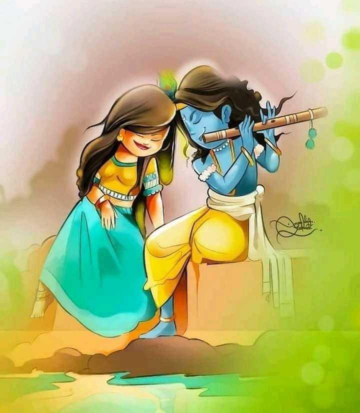 রাধা কৃষ্ণ - 1 - ShareChat