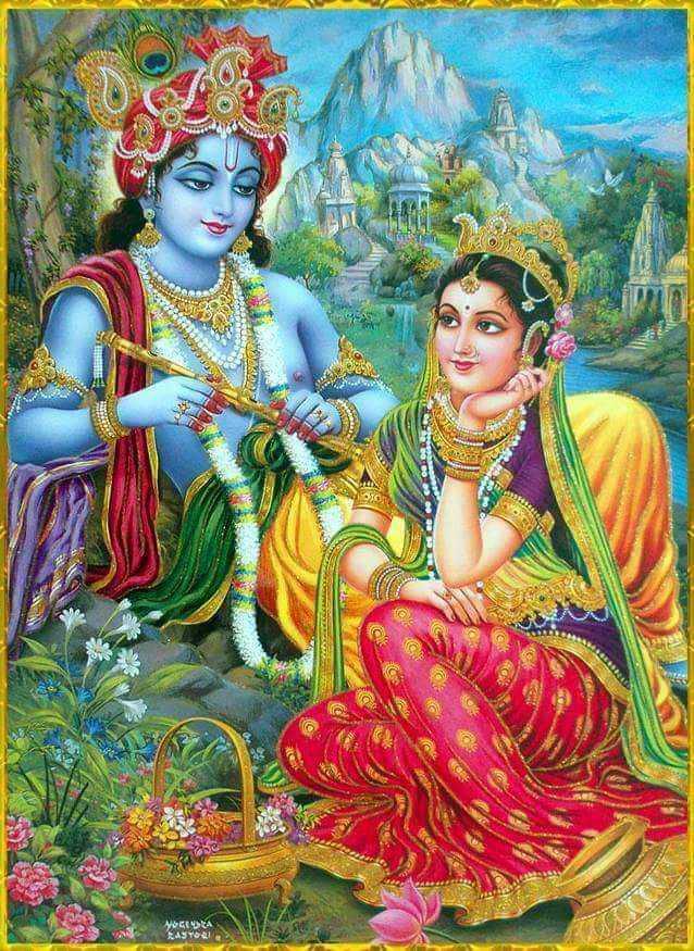 রাধা কৃষ্ণ - WA YOGESTA PASTOR - ShareChat