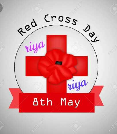 রেড ক্রস ডে - a Cross s Day Red ruya riya 8th May 123RF 9 : 123 - ShareChat