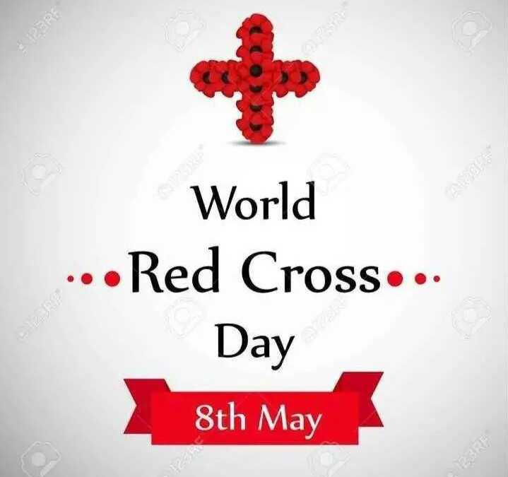 রেড ক্রস ডে - World . . . Red Cross . . . Day 8th May - ShareChat