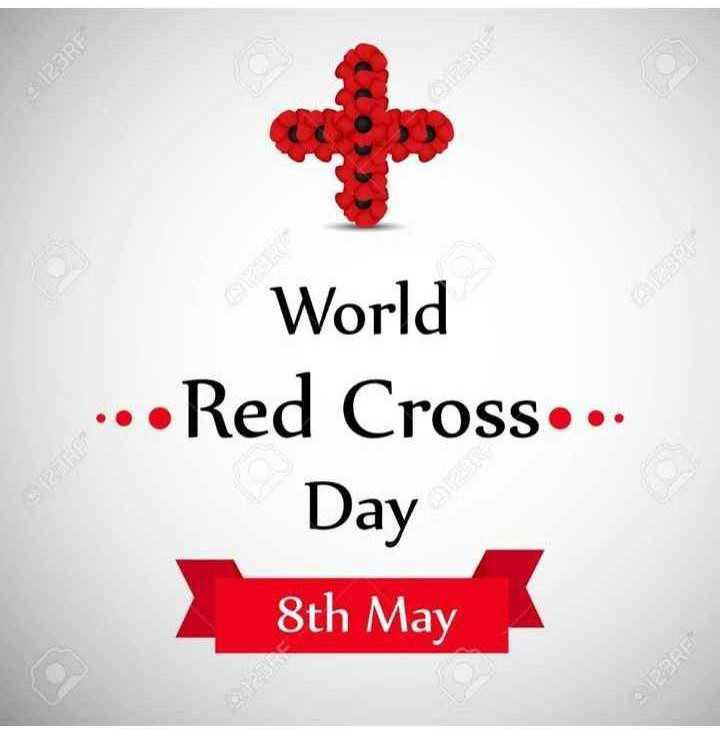 রেড ক্রস ডে - 123RF World . . . Red Cross . . . Day 8th May - ShareChat