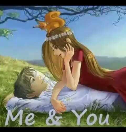 💑রোমান্টিক ছবি - Me & You - ShareChat