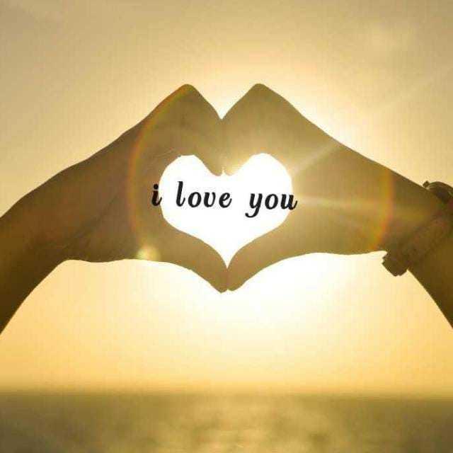 💑রোমান্টিক ছবি - i love you - ShareChat