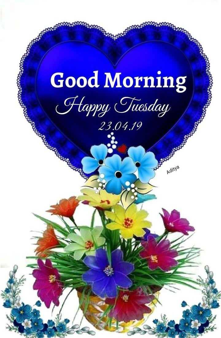 🙌শুভকামনা - obd0000 pouco word . 000ooo obodo Good Morning Happy Tuesday Ovog word 23 . 04 . 19 OOO4ON20 Aditya - ShareChat
