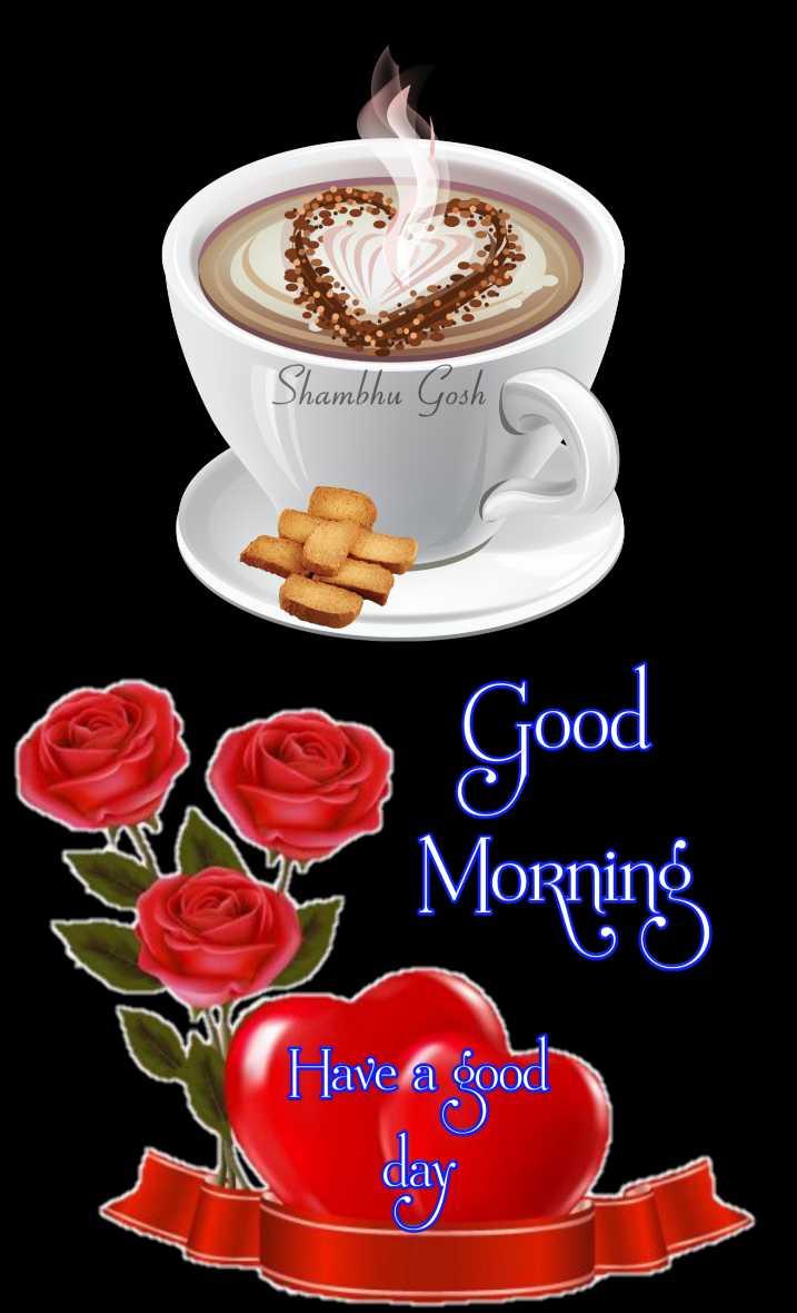 🙌শুভকামনা - Shambhu Gosh O Good Morning Have a good dav - ShareChat