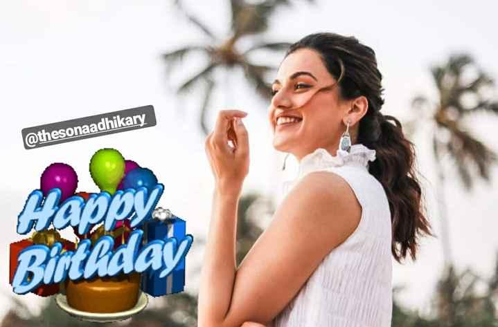 শুভ জন্মদিন তাপসী পান্নু  🎬 - @ thesonaadhikary Happy Birthday - ShareChat