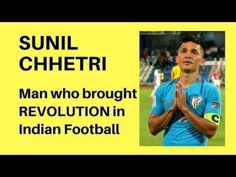 শুভ জন্মদিন সুনীল ছেত্রী ⚽️ - SUNIL CHHETRI Man who brought REVOLUTION in Indian Football - ShareChat