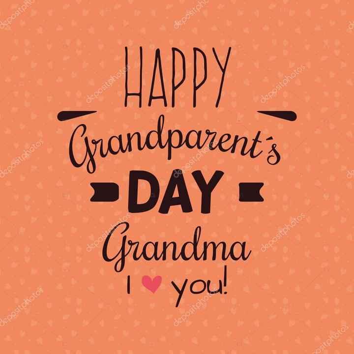 শুভ দিদিমা দিবস 👵 - Coositong depositphc ch Ositohoto depositphotos . HAPPY Grandparent ' s > DAY - Grandma To you ! positoho depositphotos beoositakot depositphotos depositphotos Depositphot positphotos - ShareChat